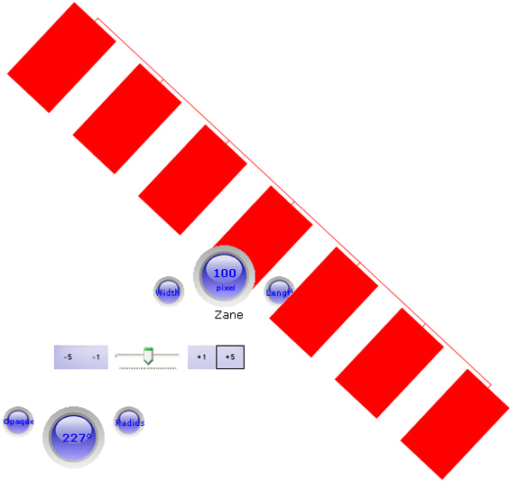 Screen Divider, Measurement Software Screenshot