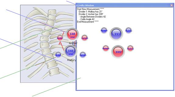 Measurement Software, Screen Divider Screenshot