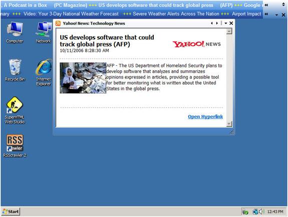 Screen Ticker 2 (Public Display Edition) Screenshot
