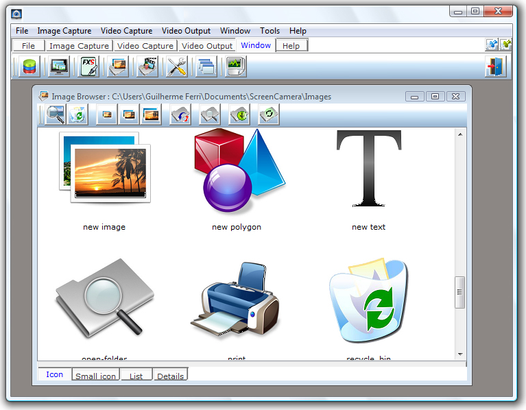 ScreenCamera.Net, Instant Messaging Software Screenshot