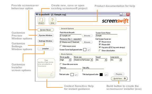 Screenswift Screenshot