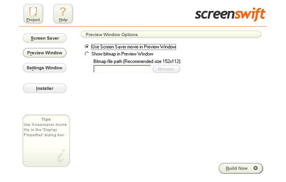 Screenswift, Misc & Fun Graphics Software Screenshot