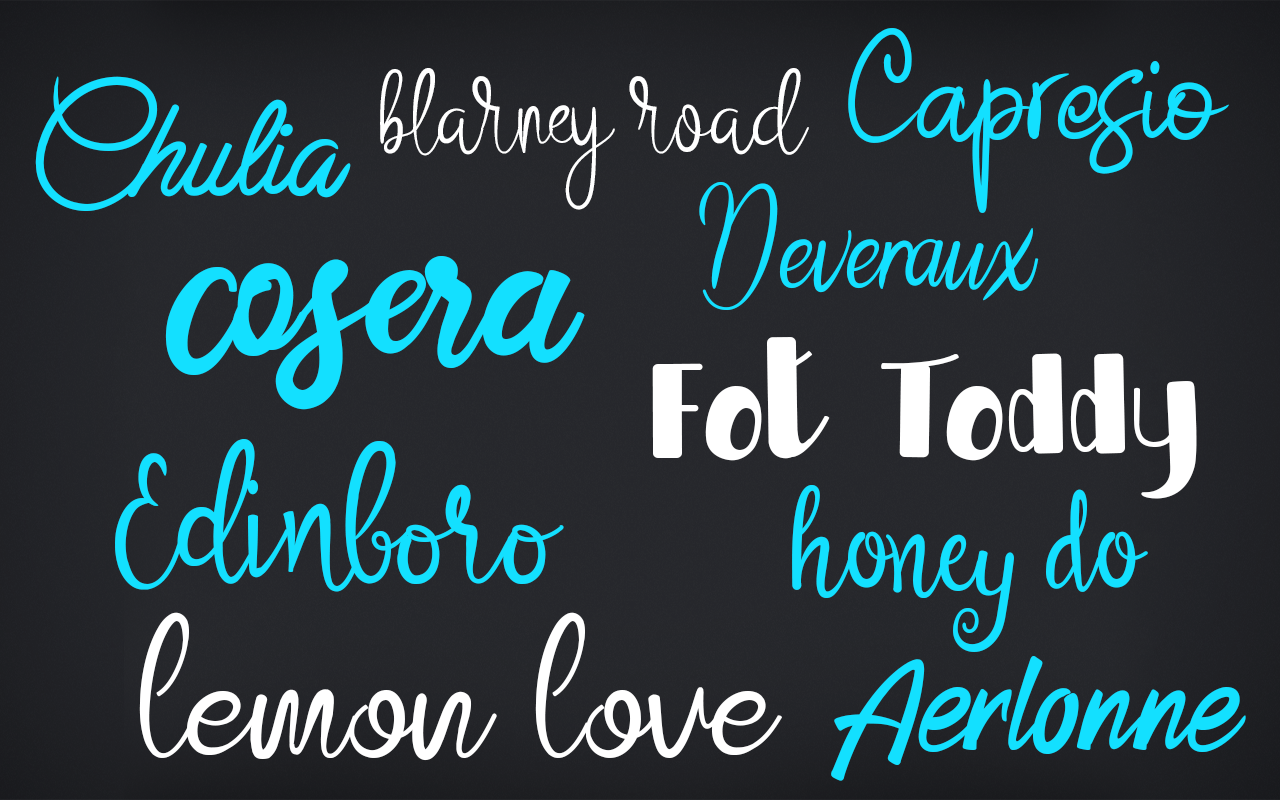 Fonts and Font Tools Software Screenshot
