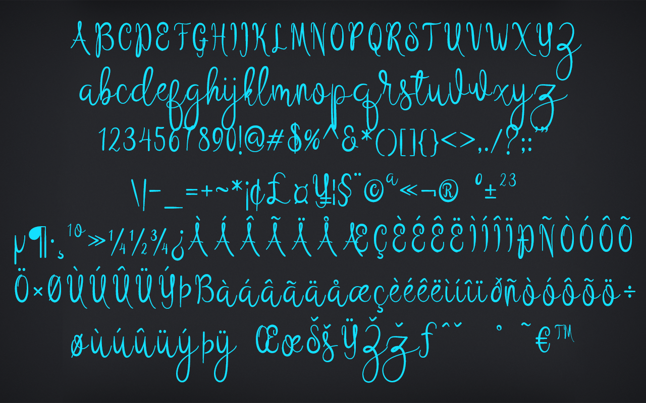 Script Fonts, Fonts and Font Tools Software Screenshot