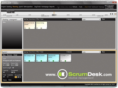 ScrumDesk Screenshot 8