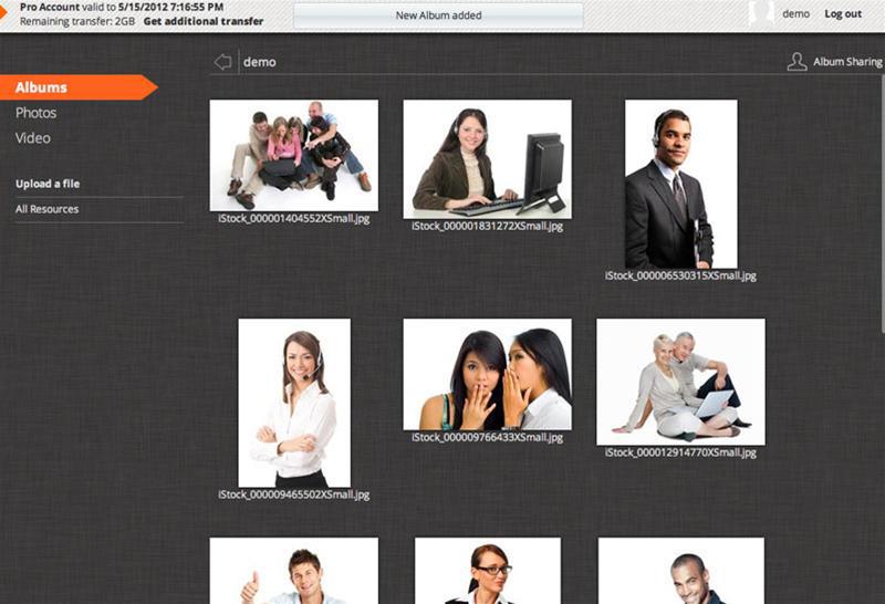 SealCast, Backup Disk Image Software Screenshot