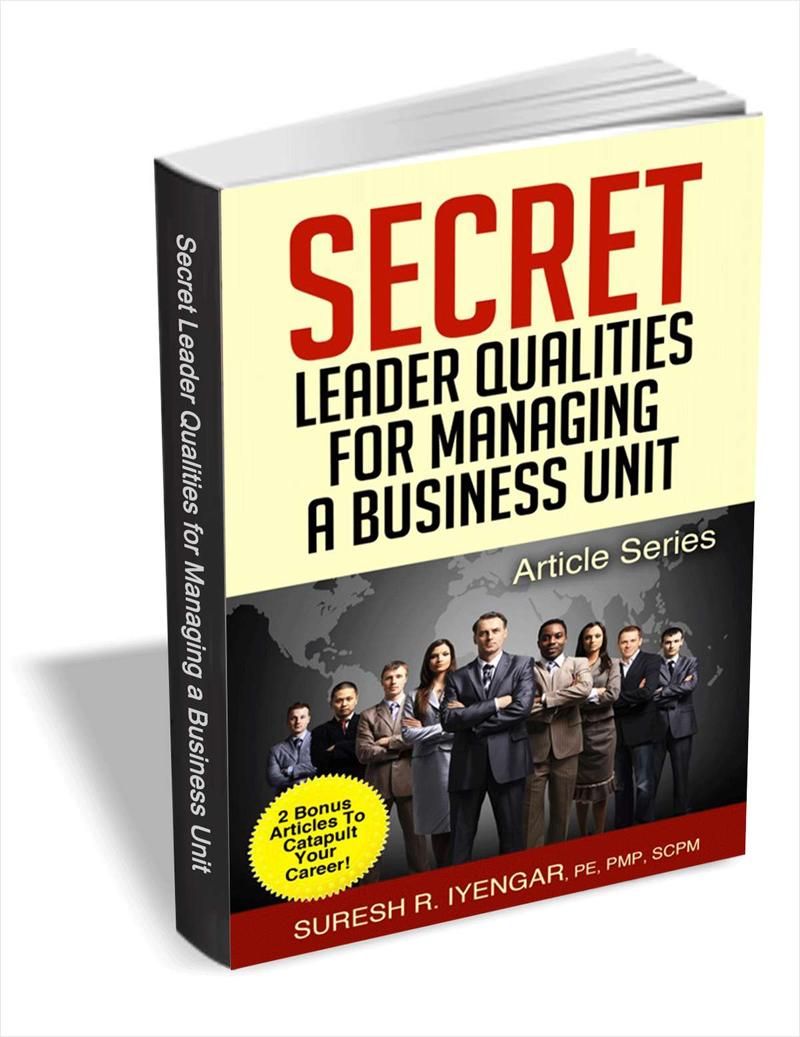 Secret Leader Qualities for Managing a Business Unit Screenshot