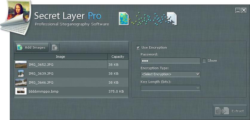 Access Restriction Software, SecretLayer Screenshot