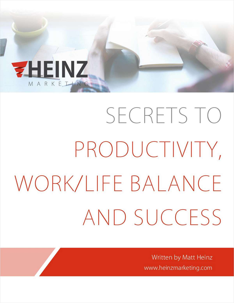 Secrets to Productivity, Work/Life Balance and Success Screenshot