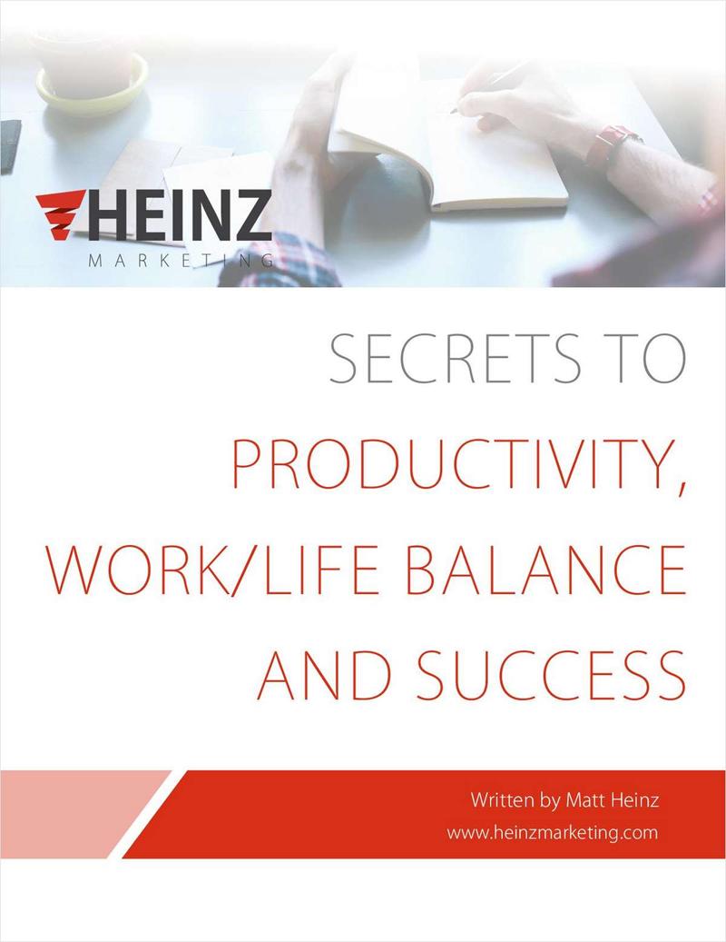 Secrets to Productivity, Work/Life Balance and Success Screenshot