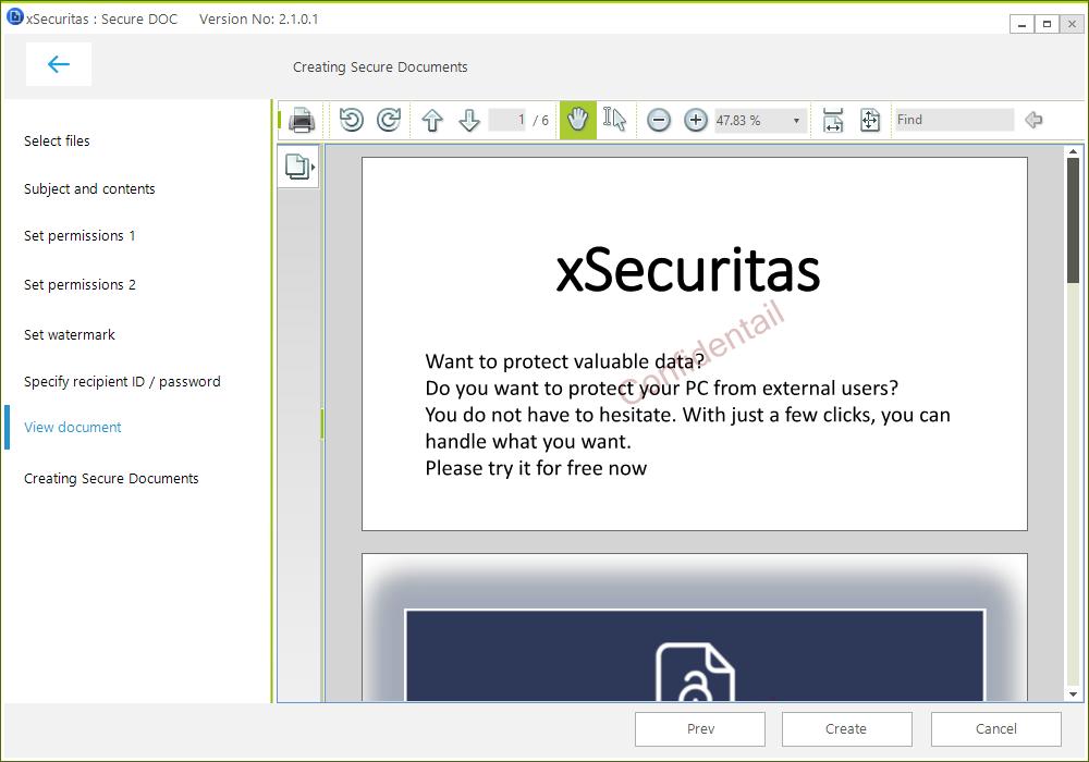 Secure Doc Screenshot
