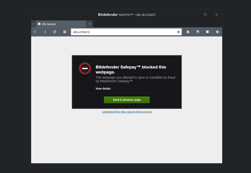 Security Bundle, Security Software Screenshot
