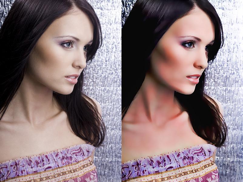 Selfie Studio, Photo Editing Software Screenshot