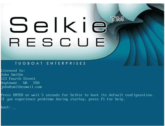 Selkie Rescue Data Recovery Screenshot