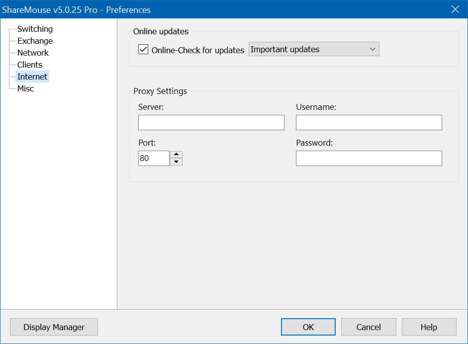 Desktop Customization Software, ShareMouse - Mouse and Keyboard Sharing Software Screenshot