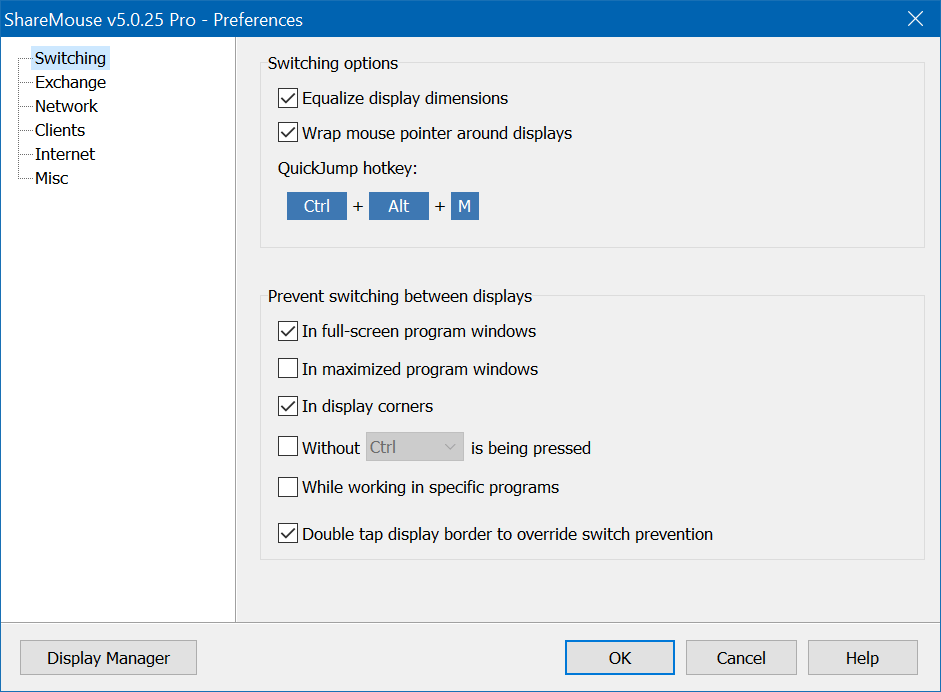 Desktop Space Software Screenshot