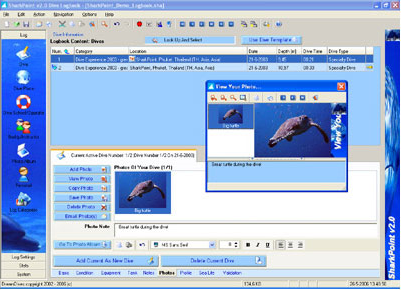 SharkPoint for Windows v2 (Professional), Hobby, Educational & Fun Software Screenshot
