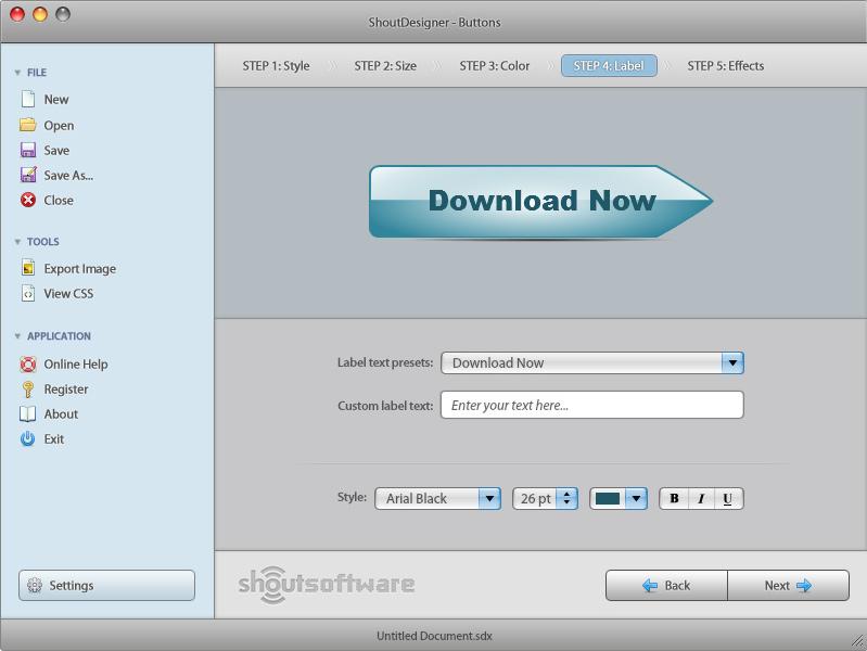 ShoutDesigner, Design, Photo & Graphics Software Screenshot