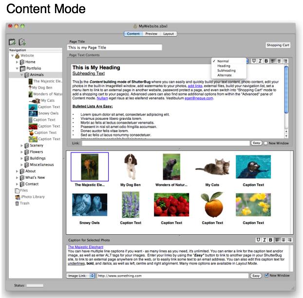 ShutterBug Screenshot