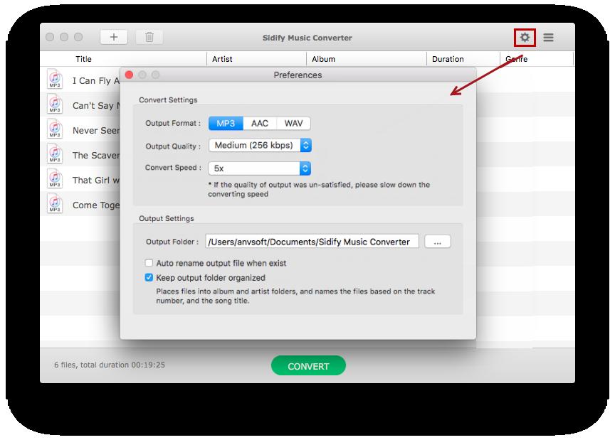 Sidify drm music converter for spotify mac & windows