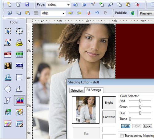SiteSpinner / SiteSpinner Pro, Website Builder Software Screenshot