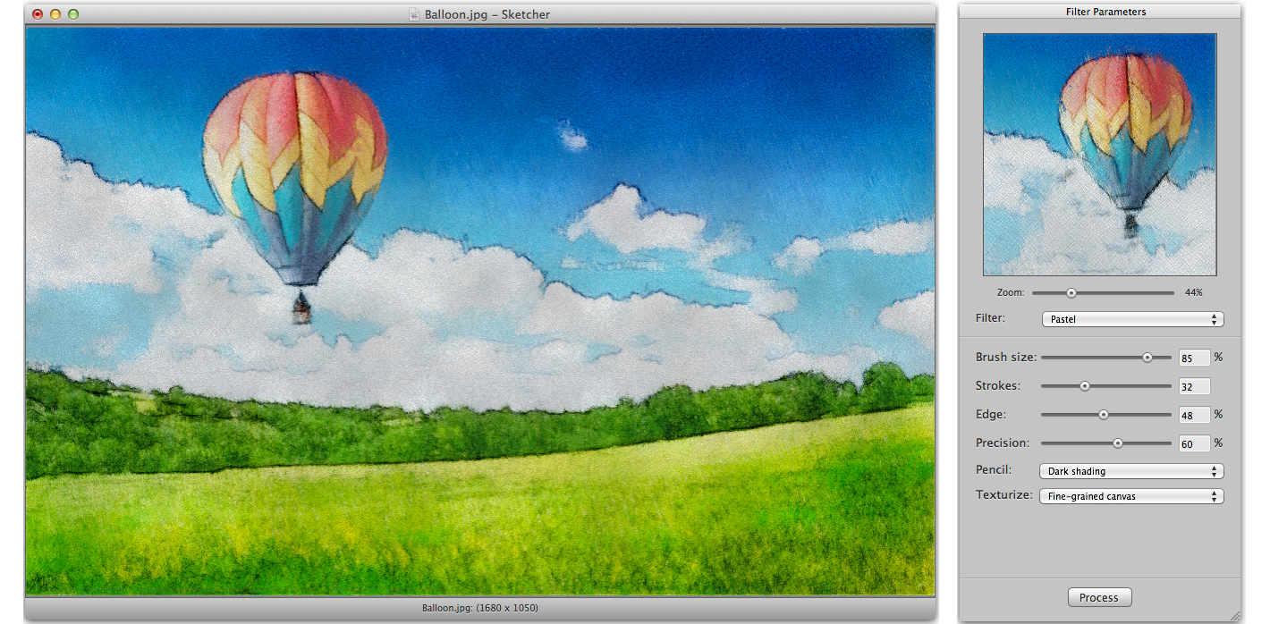 Sketcher, Design, Photo & Graphics Software Screenshot