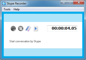 Skype Recorder Screenshot