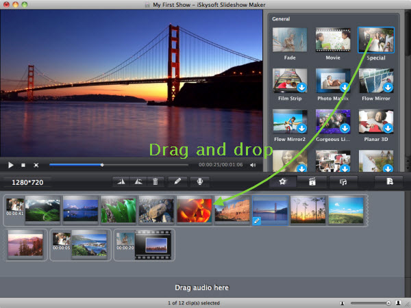 Slideshow Maker, Slideshow Software Screenshot