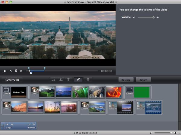 Design, Photo & Graphics Software, Slideshow Maker Screenshot