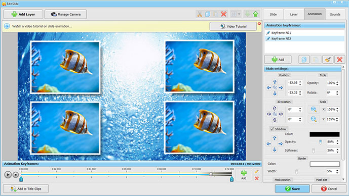SmartSHOW 3D Deluxe, Design, Photo & Graphics Software Screenshot