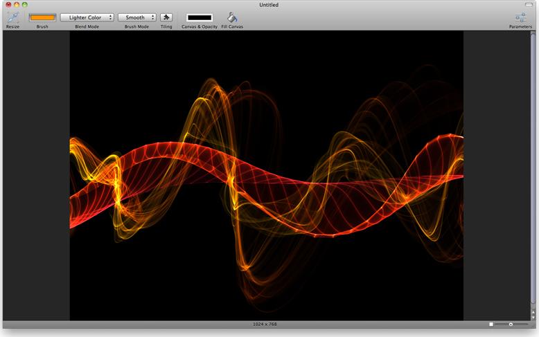 Smoke, Design, Photo & Graphics Software Screenshot