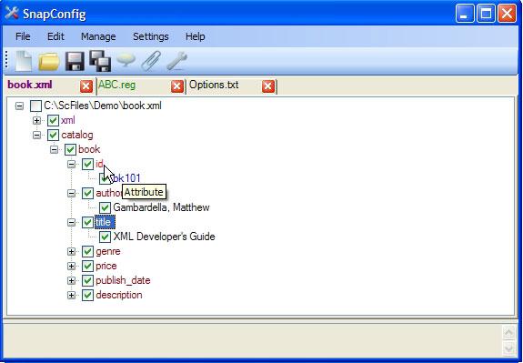 SnapConfig Screenshot