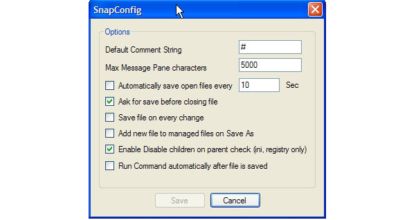 SnapConfig Screenshot 8