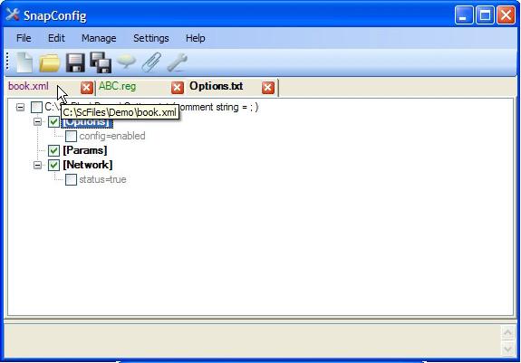 SnapConfig, Development Software, Development Tools Software Screenshot
