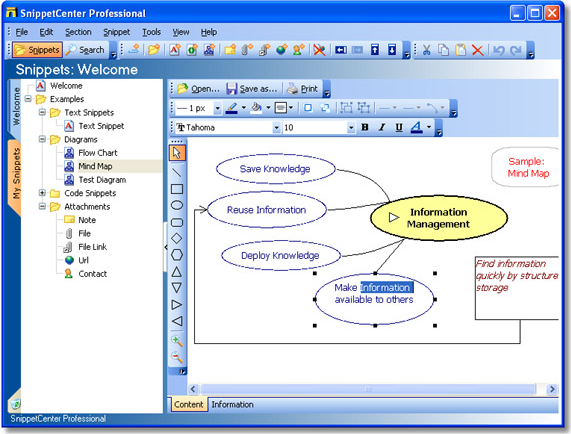 Notes Software Screenshot