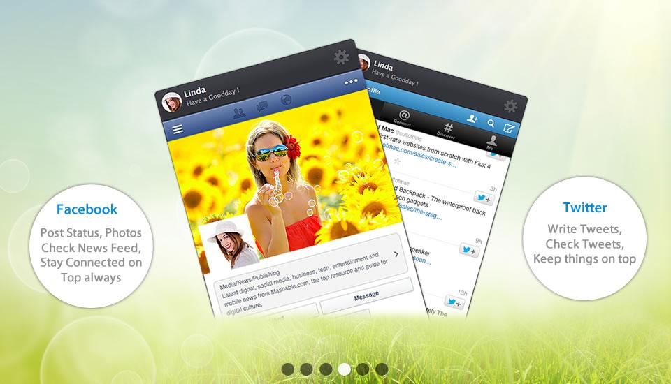 SocialFan, Productivity Software Screenshot