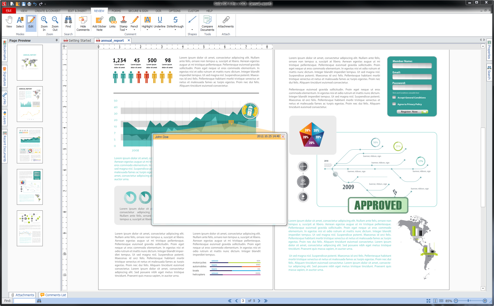 Soda PDF Standard, PDF Utilities Software Screenshot