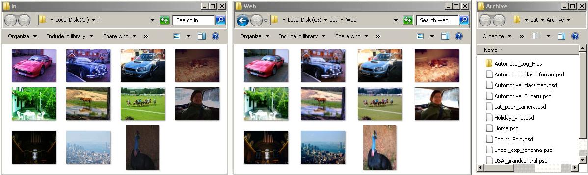 SoftColor Server Screenshot
