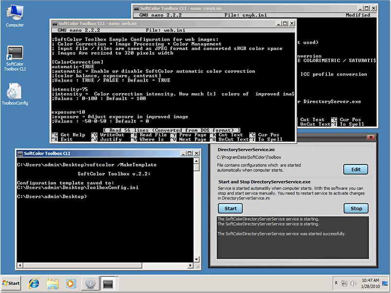 SoftColor Toolbox, Photo Editing Software Screenshot