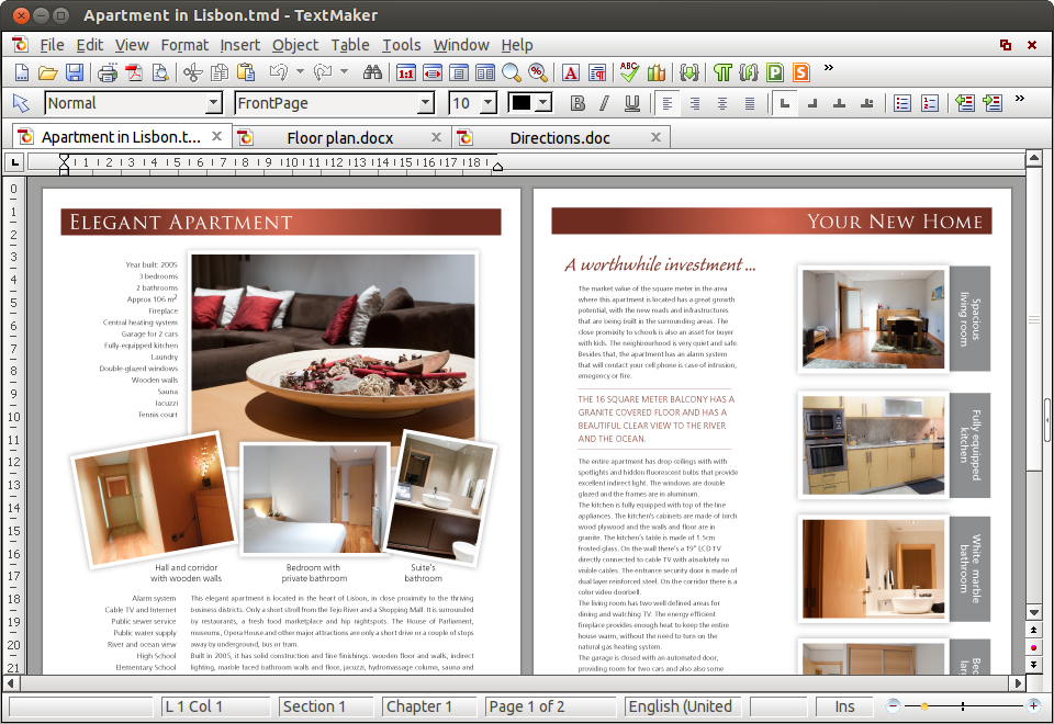 SoftMaker Office 2012 for Linux Screenshot