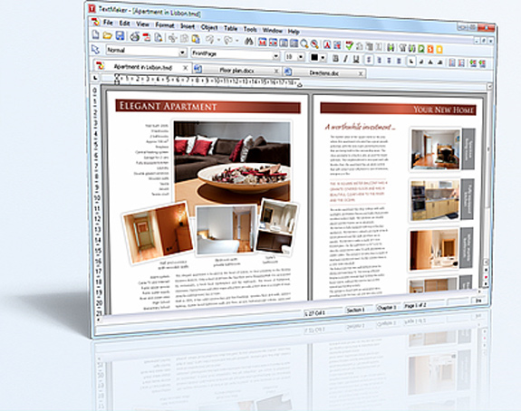 SoftMaker Office 2012 for Windows and Elegant Handwriting Fonts Bundle Screenshot