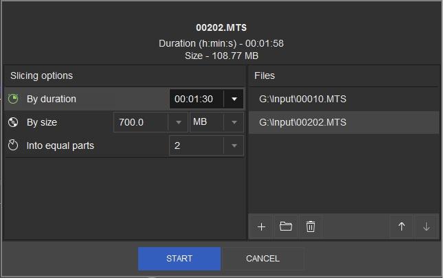 SolveigMM Video Splitter, Video Editing Software Screenshot