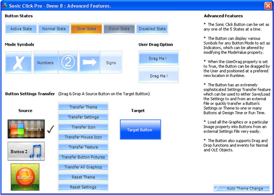 Sonic Click Pro Button ActiveX Control Screenshot 8