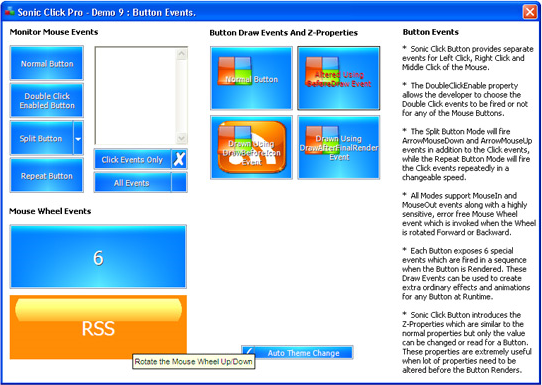 Sonic Click Pro Button ActiveX Control Screenshot 9