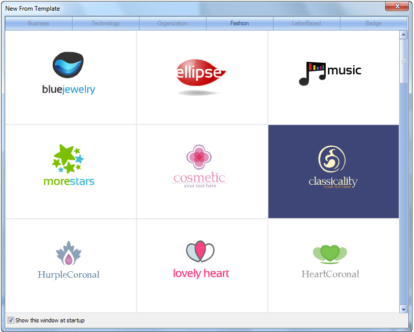 Icons Software, Sothink Logo Maker Screenshot