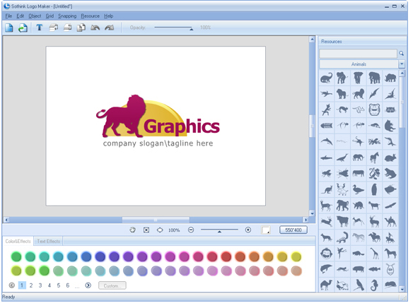 Sothink Logo Maker Screenshot