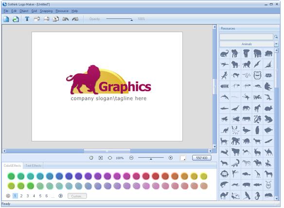 Sothink Logo Maker Screenshot