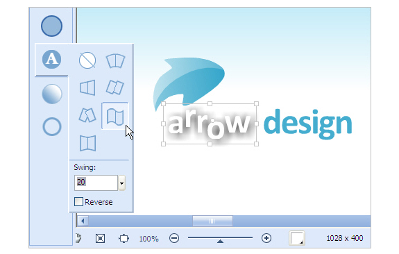 Sothink Logo Maker, Icons Software Screenshot