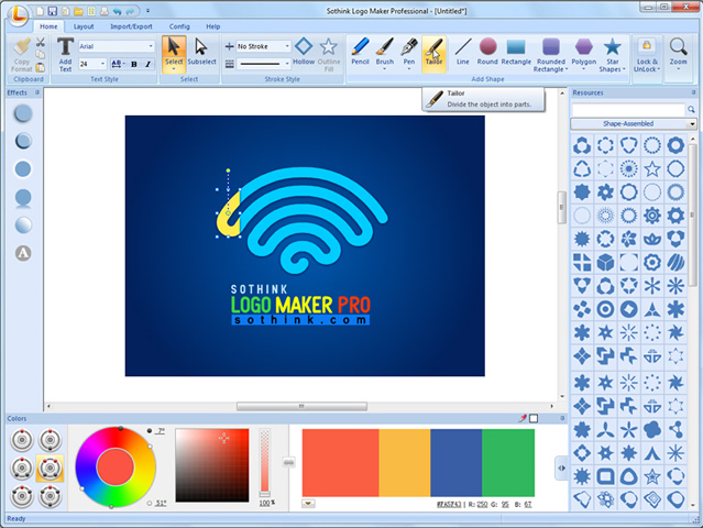 Sothink Logo Maker Professional Screenshot