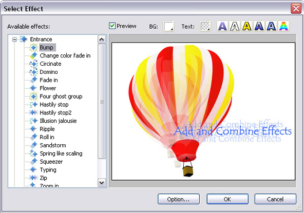 Flash Software, Sothink SWF Easy Screenshot